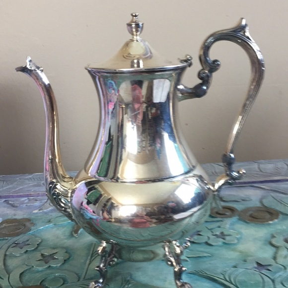 Vintage Silver Teapot